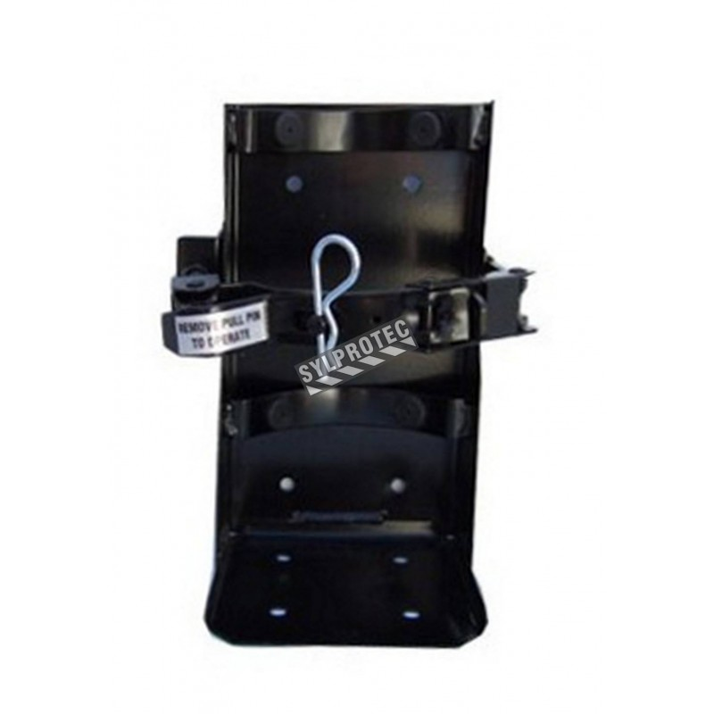 Crochet véhicule pour extincteurs de diamètre 8 à 8.25 po
