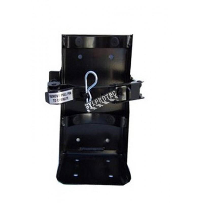 Crochet véhicule pour extincteurs de 20 lbs, diamètre 6.75 à 7.25 po