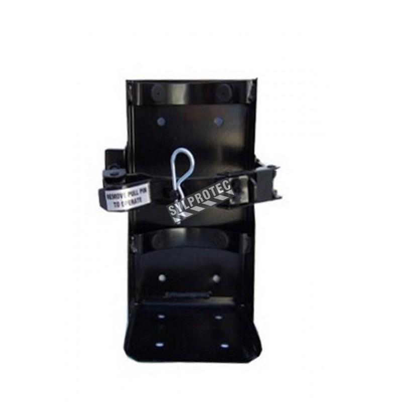 Crochet véhicule pour extincteurs de 20 lbs, diamètre 6.25 à 6.75 po