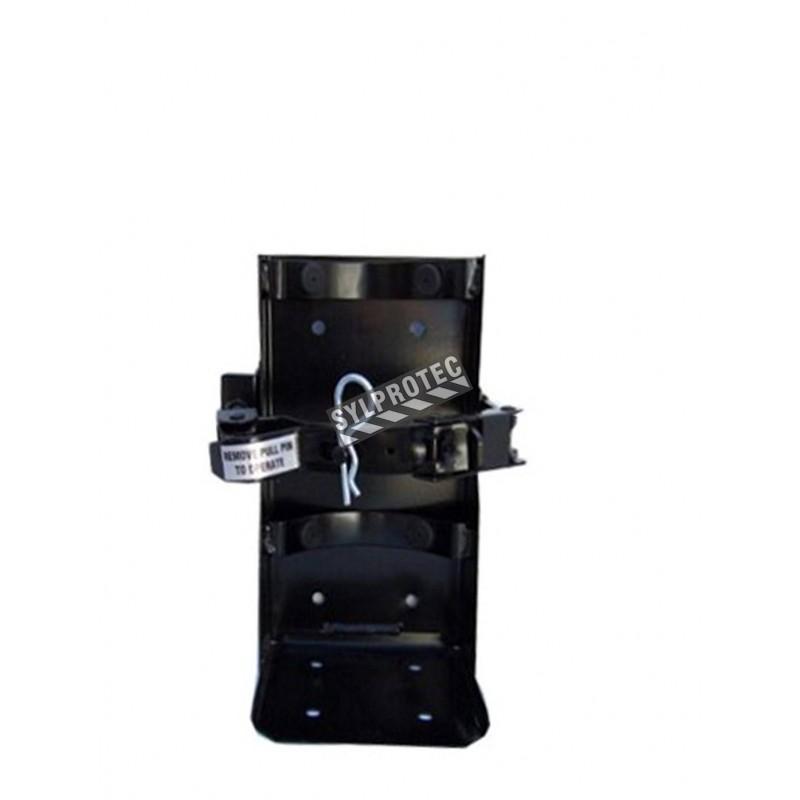 Crochet véhicule pour extincteurs de 5 lbs, diamètre 4 à 4.5 po