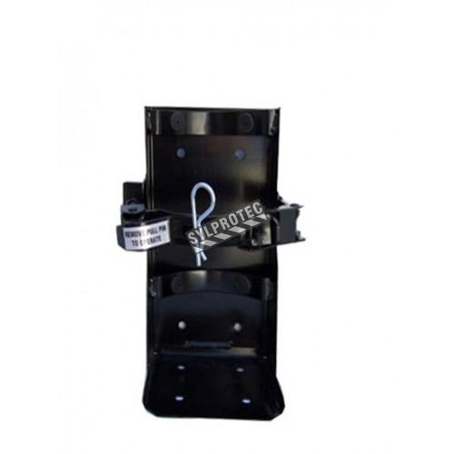 Crochet véhicule pour extincteurs de 10 lbs, diamètre 4.75 à 5.25 po