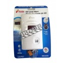 Digital CO (carbon monoxide) detector, with wall plug for 120 V AC and 9 V battery back-up.