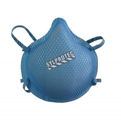 Moyen respirateur N95 par Moldex contre particules solides, liquides, non huileuses & biologiques. Vendu par boite de 20 unités.