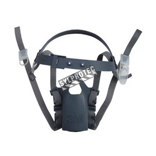 3M spare head harness assembly for 3M series 7500 half facepiece respirators. pack/5 unit