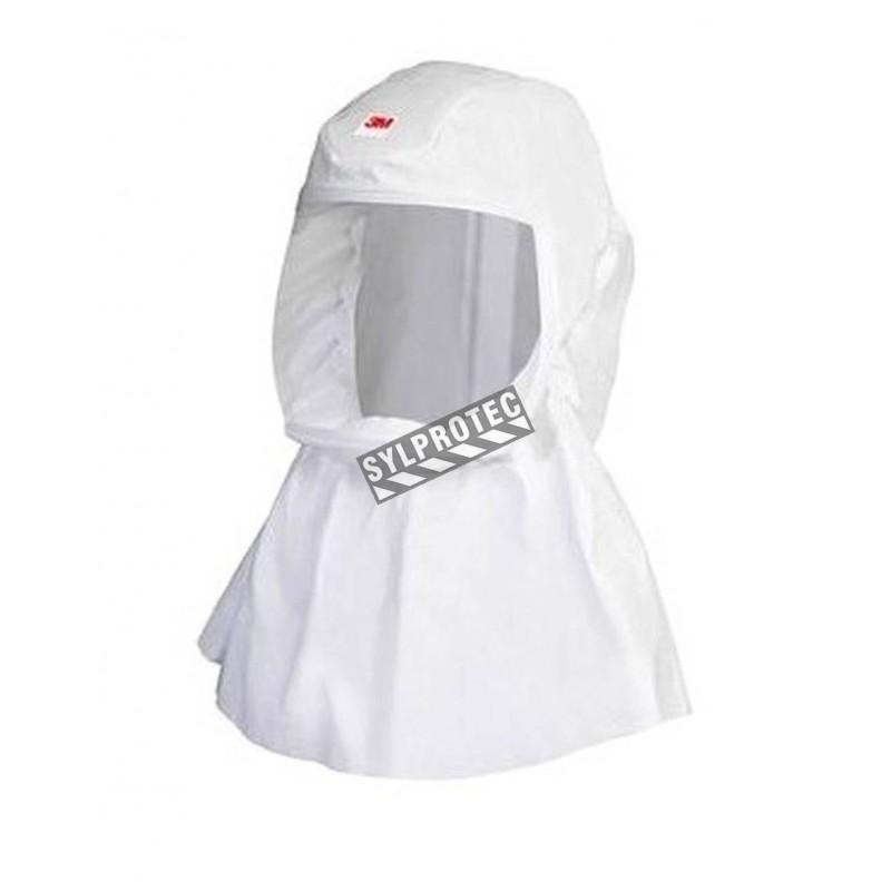 Cagoule blanche P/M de série S de 3M pour système de protection respiratoire en milieu pharmaceutique, médical & agroalimentaire