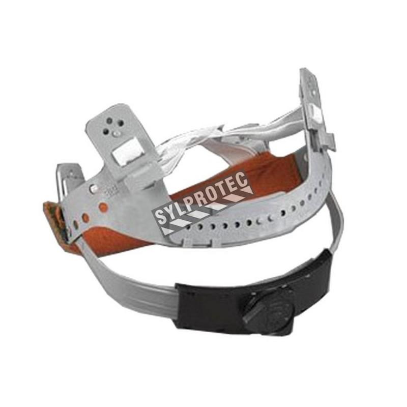 Suspension à rochet pour les cagoules de protection respiratoire RH410, RH420 à utiliser avec le GVP de 3M. (2 unités).