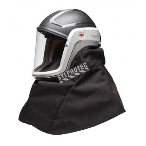 3M RM407 facepiece with headcover for GVP system, Breathe Easy, Versaflow, Adflo or V-series air supplied respirators.