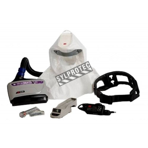 3M TR-600 Versaflo powered air purifying respirator (PAPR) for pharmaceutical, medical & food industry