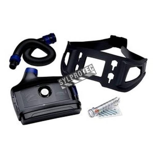 Ensemble Versaflo avec batterie standard (autonomie 4 à 12 h) & ceinture facile à laver pour milieu médical. Sans pièce faciale