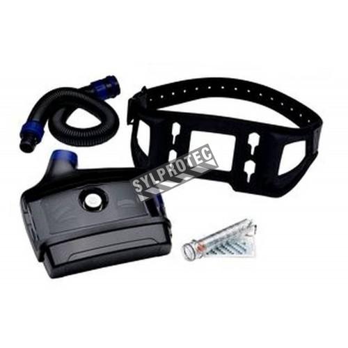 Ensemble Versaflo avec batterie puissante (autonomie 10.5 à 19h) & ceinture robuste pour milieu industriel. Sans pièce faciale