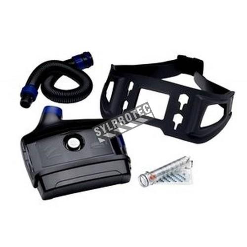 Ensemble Versaflo à batterie puissante (autonomie 10.5 à 19h) & ceinture facile à laver pour milieu médical. Sans pièce faciale