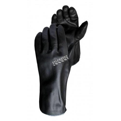 Gant Chemstop™ de Dyneema® composite enduit de mousse de nitrile de 12 po de long. Résistance 4 aux coupures. 12 paires/pqt.