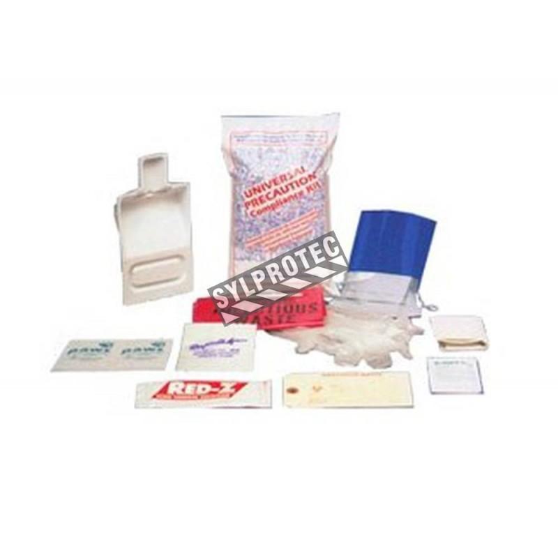 Body fluids clean-up kit.