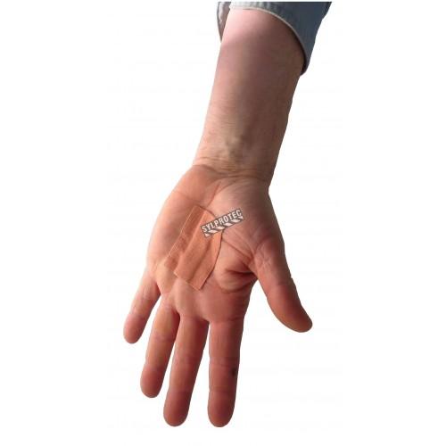 Rouleau de pansement en tissu élastique, 4 cm x 5 m (1.5 po x 16 pi), à couper selon besoin.