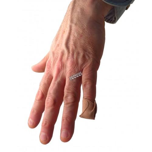 Pansements élastiques pour bouts des doigts, petits, 4.4 x 5.1 cm (1.75 x 2 po), 50/bte.