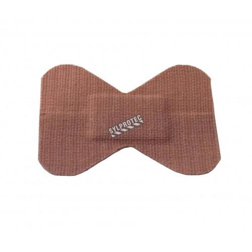 Pansements en tissu élastique pour bouts des doigts, grands, 4.4 x 7.5 cm (1.75 x 3 po), 100/bte.