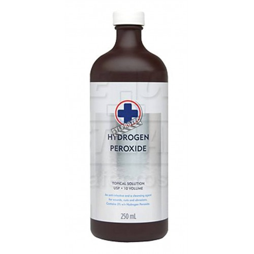 Hydrogen peroxide 225 ml for first aid