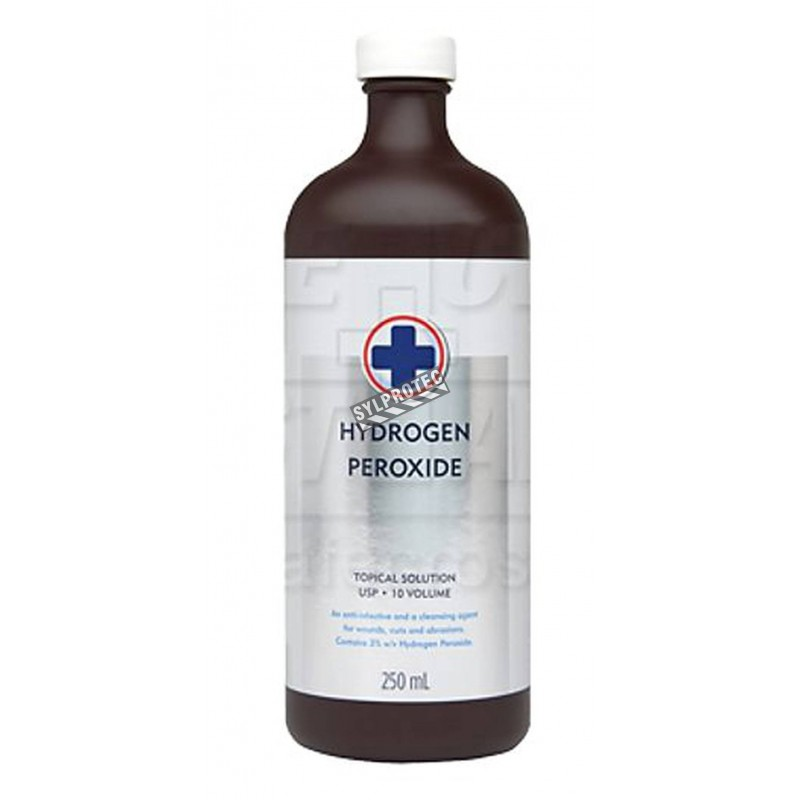 Peroxyde d'hydrogène 225 ml, 3 % de concentration