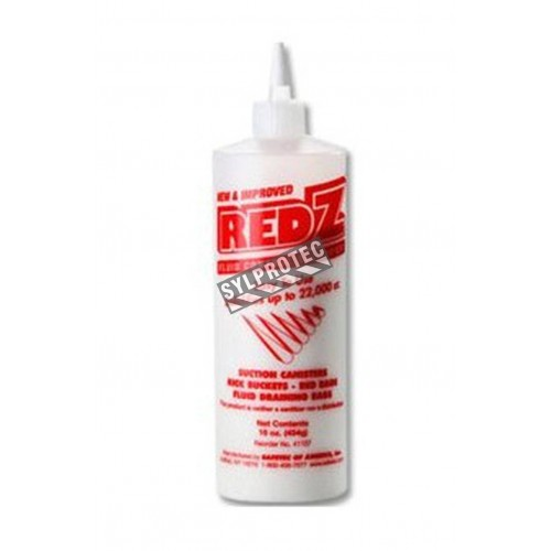 Red-Z fluid solidifier powder for body fluids clean-up.