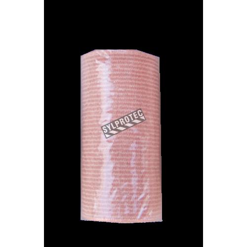 Rouleau de bandage élastique beige, 3 po x 16 pi, vendu à l'unité.