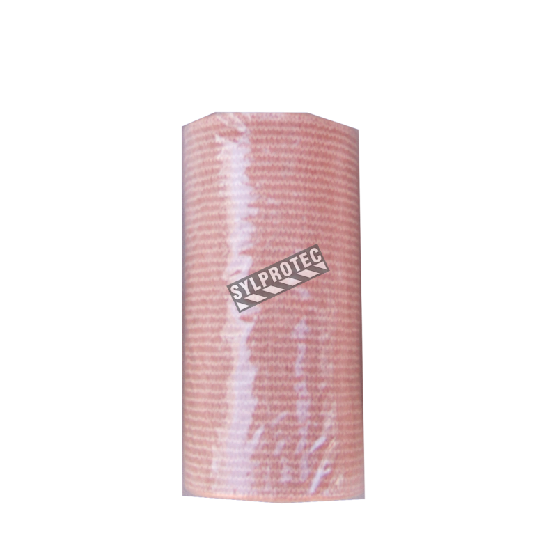 Beige elastic support bandage, 7.6cm X 5 m (3 in X 16.5 ft)