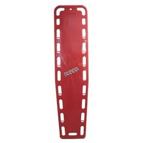 Full-length polyethylene spine board