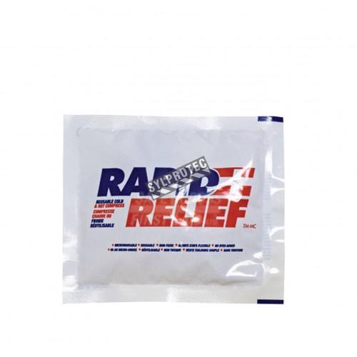 Compresse chaude ou froide réutilisable, 4 x 6 po.