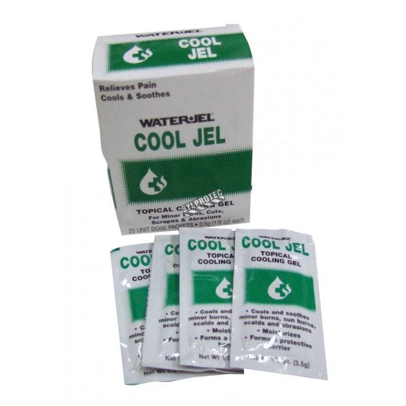 Sachets de gel pour brûlures Cool Jel, 3.5 g, 25/bte.