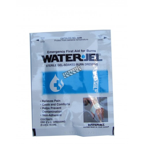 Water Jel sterile burn dressing, individually packed, 2 x 6 in.