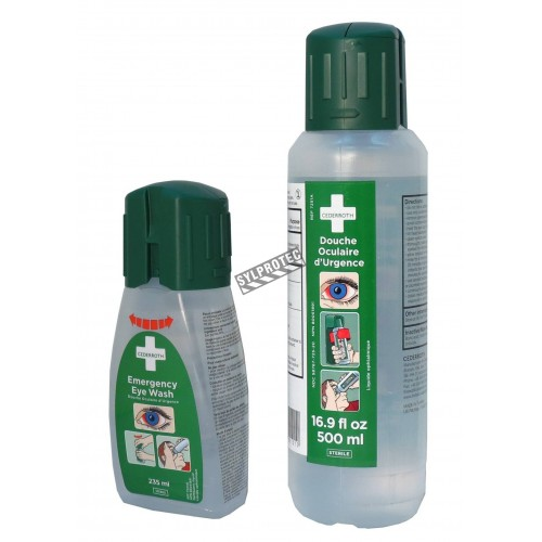 Cederroth emergency eye wash solution