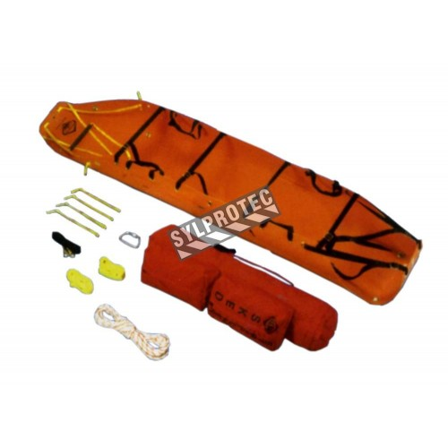 Sked brand basic rescue kit with 7 types of items.