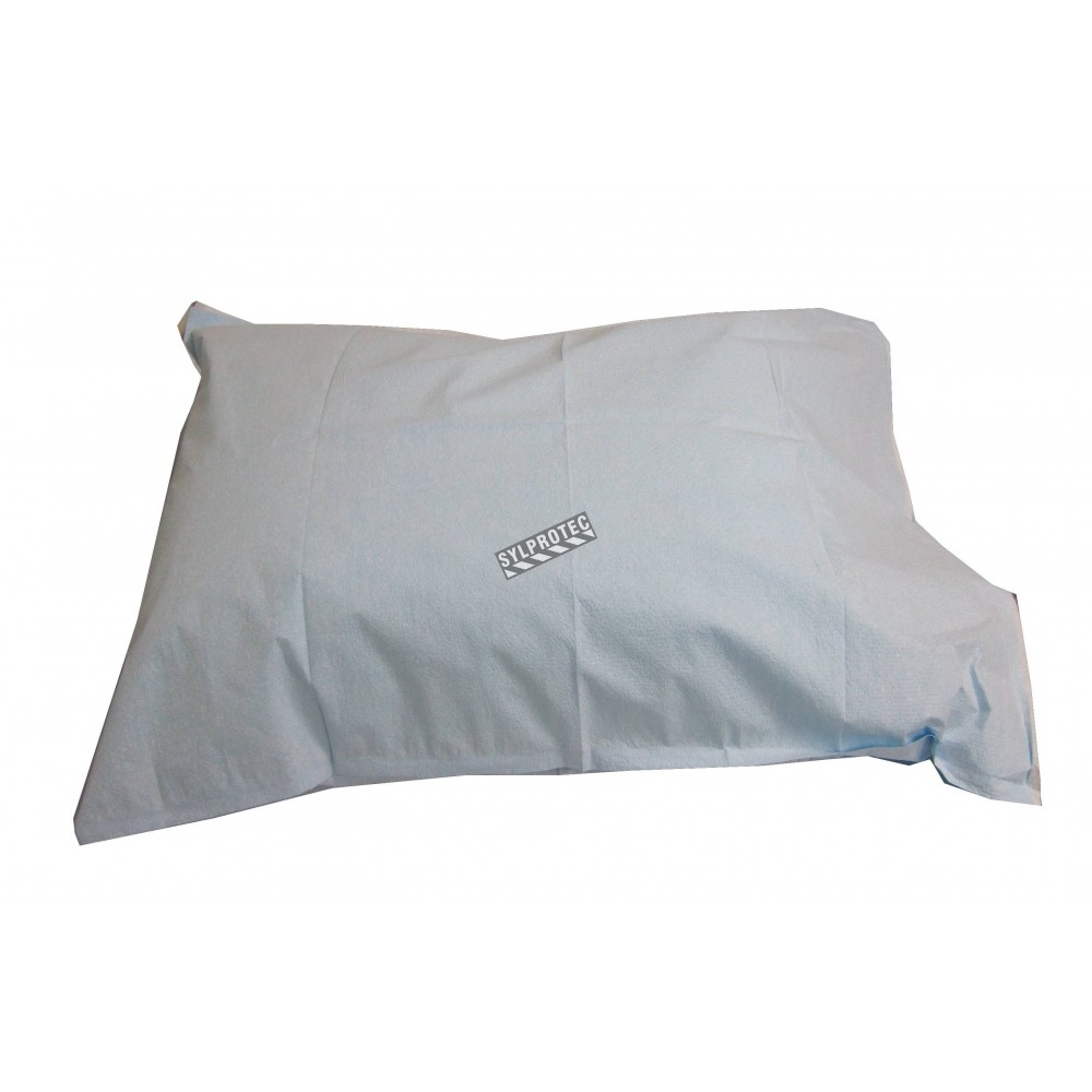 Disposable Tissue Pillowcases With Polyester Backing 25 Pkg