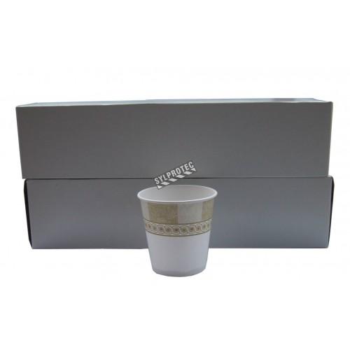 Gobelets jetables en carton, 88 ml, 100/pqt.
