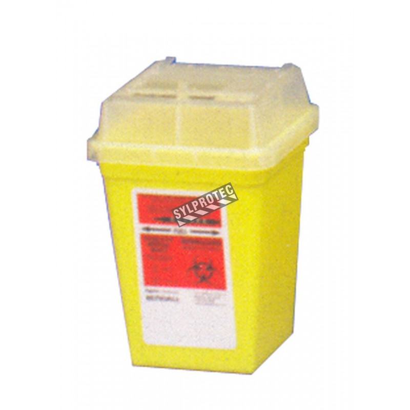 General purpose sharps waste container, 946 ml (1 quart).