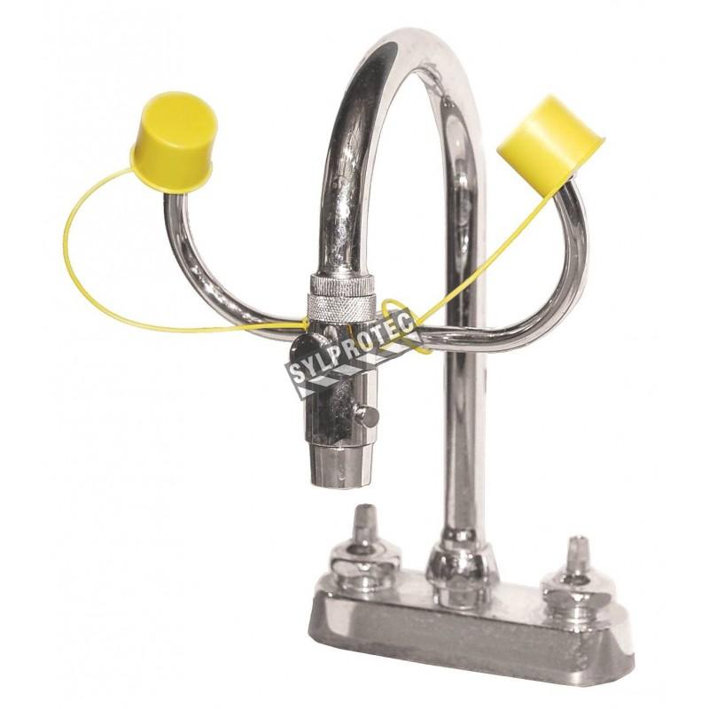 douche oculaire pour robinet de laboratoire ansi z358 1 2009. Black Bedroom Furniture Sets. Home Design Ideas