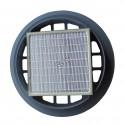 Filtre HEPA pour aspirateur-traineau industriel Nilfisk GD930. Filtre capturant 99,97% des particules de plus de 0.3 µm.