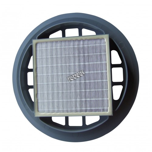 HEPA filter for Nilfisk GD930 industrial canister vacuum cleaner. Filter for particles down to 0.3 µm with 99,97% efficiency