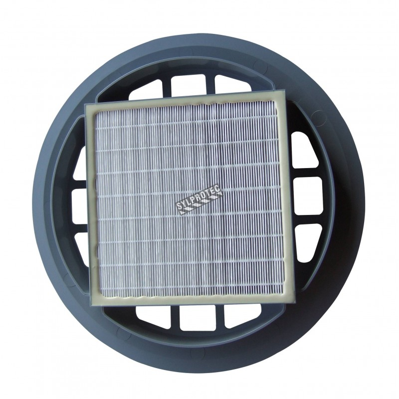 hepa filter for nilfisk gd930 industrial canister vacuum cleaner filter for particles down to 03 m with 9997 efficiency