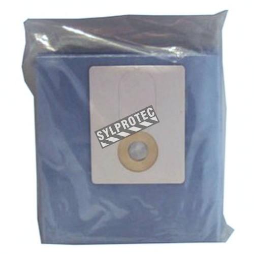 Sacs de 12 gal (US) (45 L) pour aspirateur-traineau industriel HazVac. Idéal pour le désamiantage et la décontamination