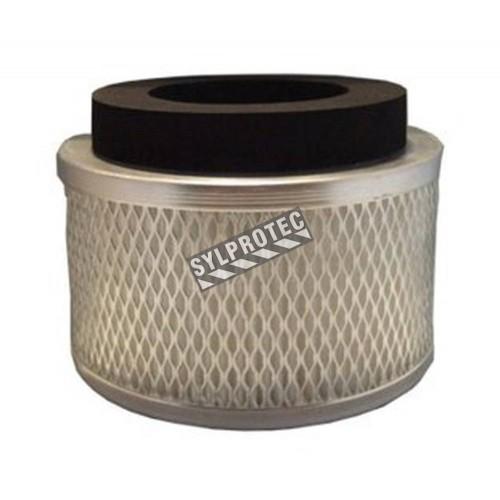 Filtre HEPA pour aspirateur-traineau industriel HazVac EC-12. Filtre capturant 99,97% des particules de plus de 0.3 µm.