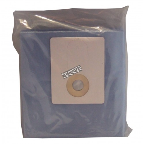 8 gal(US)/30L vacuum bags for HEPA-AIRE industrial canister vacuum cleaner. Ideal for asbestos abatement & decontamination