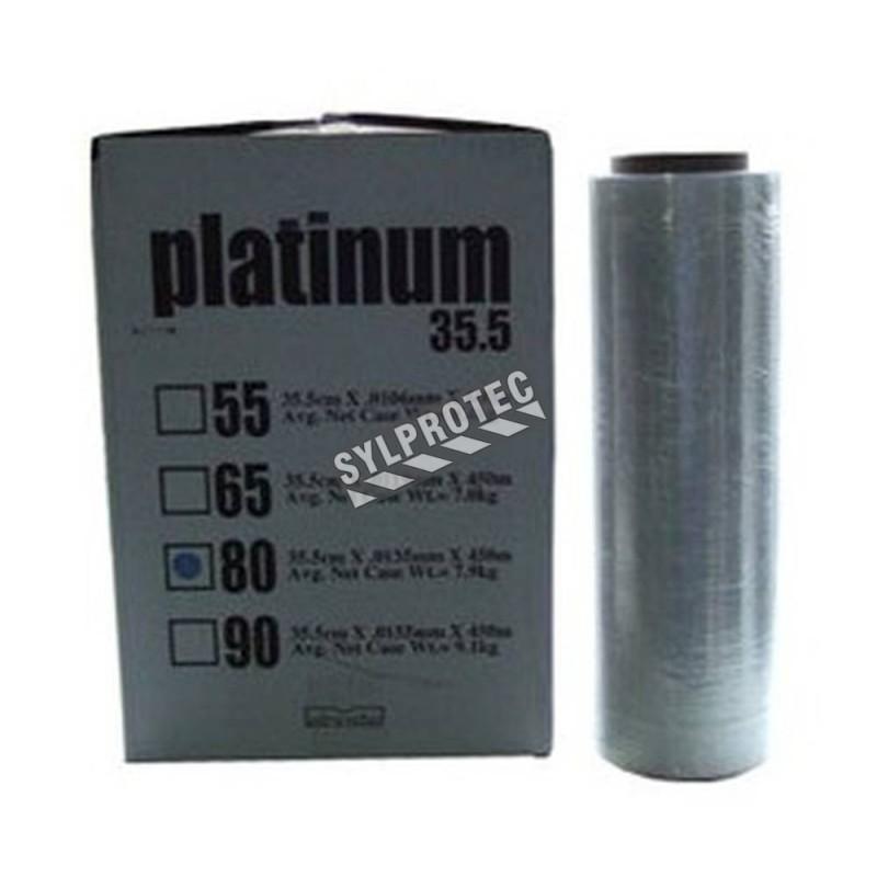 Plastic wrap 14 in X 1500 feet, 4 rolls per box.