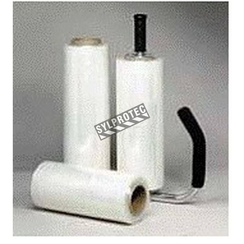 Manual dispenser for plastic wrap 14 in to 18 in.