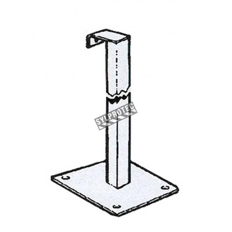Poteau 2 po. X 2 po. extra durable, spécifier la hauteur.
