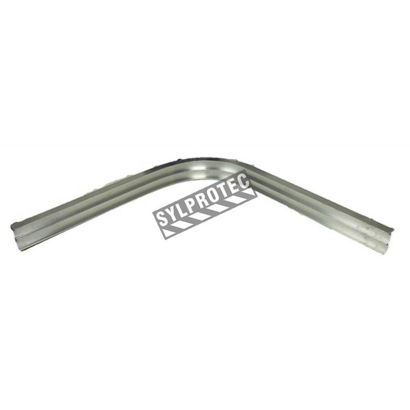 Coude 90 degré pour longueur de rideau. Extra durable en aluminium 0.125, 4 pied de long.
