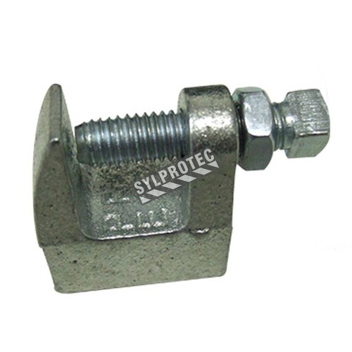 C fastening, joint threaded rods to strutural element.