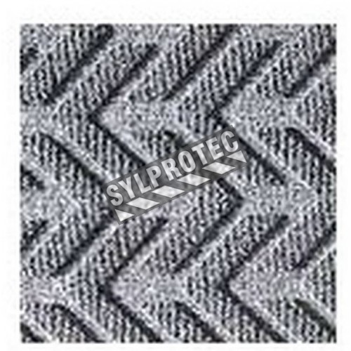 EcoPlus dark gray carpet  made partly from recycled materials