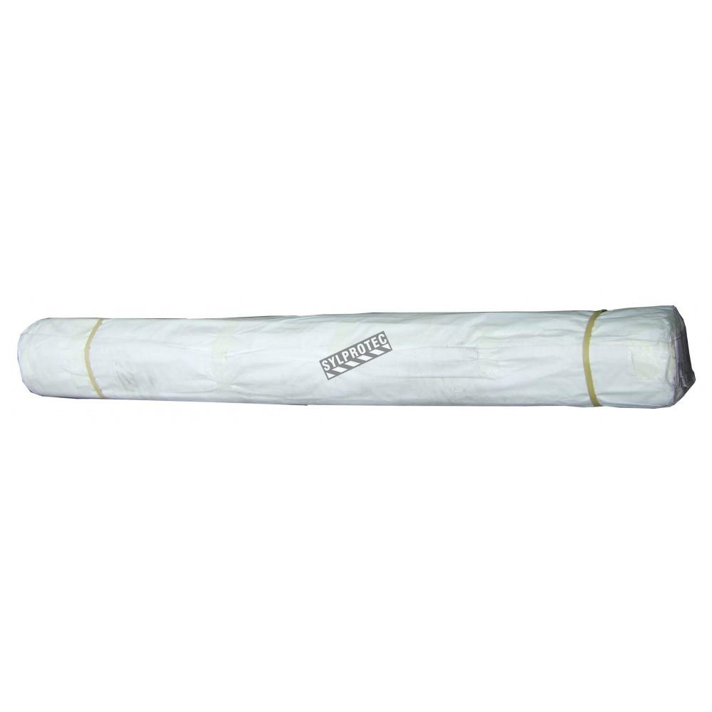 Rouleau de poly thyl ne blanc haute densit ignifuge pais de 6 mil - Rouleau de polyethylene ...