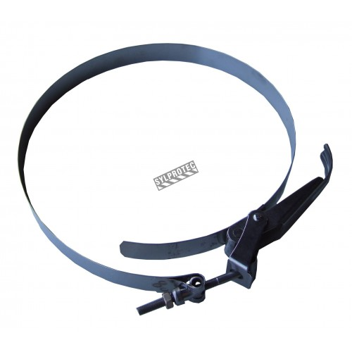 Hose clamp of a diameter of 10 in designed for PREDATOR 750 filtration systems