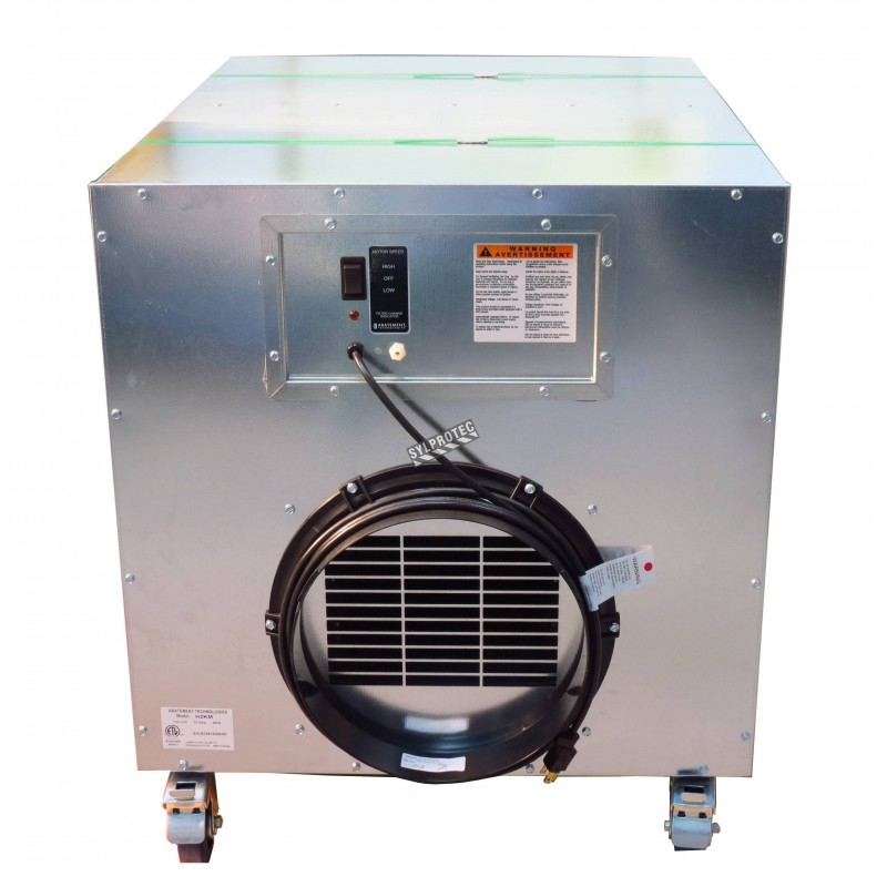 Portable Air Scrubber With Airflow Of 1300 Cfm Or 2000 Cfm